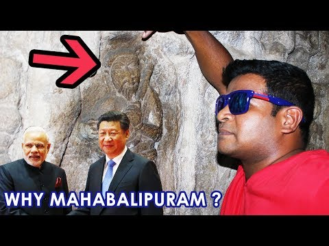 Ancient Indian - Chinese Connection Revealed at Mahabalipuram!