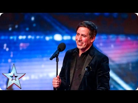 Amanda Turns Glamorous Assistant For Christian Lee | Auditions Week 7 | Britain's Got Talent 2016