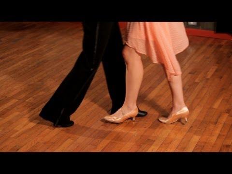 How to Do a Foxtrot Corner Step | Ballroom Dance