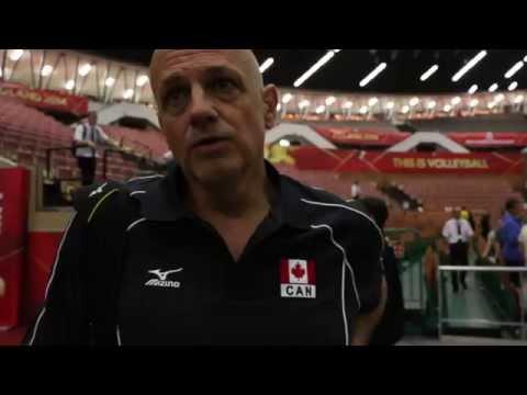 Glenn Hoag, Canadian National Volleyball Team Head Coach