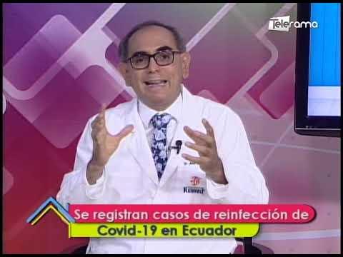 Se registran casos de reinfección de covid-19 en Ecuador