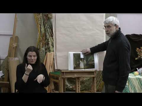 Митлянский М.Д. Особенности работы с глухими студентами над живописным натюрмортом