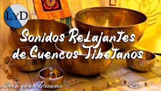 Video Cuencos Tibetanos: Sonidos Relajantes con Agua, Dormir, Meditación, Relajación, Armonizar Chakras MP3, 3GP, MP4, WEBM, AVI, FLV Juni 2018