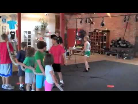 CrossFit Kids Game Pizza Delivery