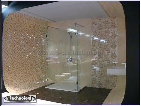 lampki w fugach - nowoczesna łazienka e-technologia