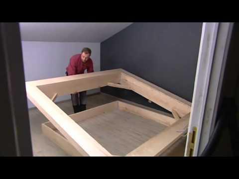 Réaliser un lit en frêne