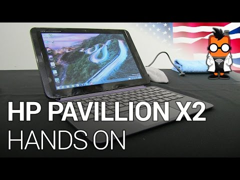 HP Pavillion X2 Hands On - 10.1 inch Windows Tablet with Magnetic Keyboard