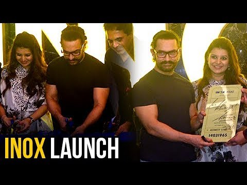 Humble Aamir Khan Greets His Fans At INOX Insignia