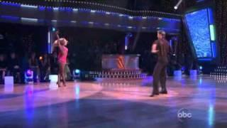 Juilianne Hough & Derek Hough dancing freestyle Cha-Cha-Cha