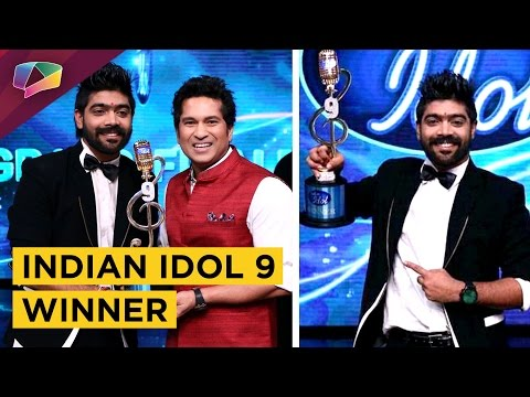 L V Revanth WINS Indian Idol 9 TROPHY | Indian Ido
