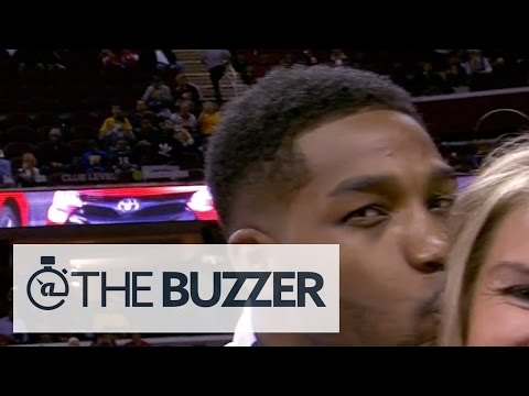 kisses - Tristan Thompson of the Cleveland Cavilers shows his funky side after this move he pulled on FOX Sports Ohio's Allie Clifton. SUBSCRIBE to get the latest @TheBuzzer content: http://youtu.be/VaE_hL.