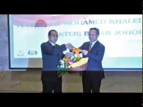 Majlis 'Hi Tea' Menteri Besar Johor Bersama Kontraktor PIPC