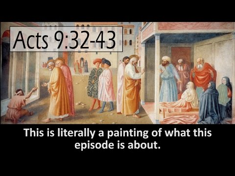 Her Name Was Tabitha Dorcas. Her NAME Was Tabitha Dorcas. (Acts 9:32-43) | TMBH Acts #42