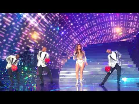 "Jennifer Lopez ""All I Have"" Planet Hollywood Las Vegas, Opening Sequence"