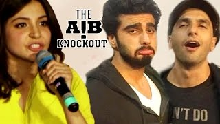 Video Anushka Sharma REACTS on AIB Knockout CONTROVERSY MP3, 3GP, MP4, WEBM, AVI, FLV Oktober 2018