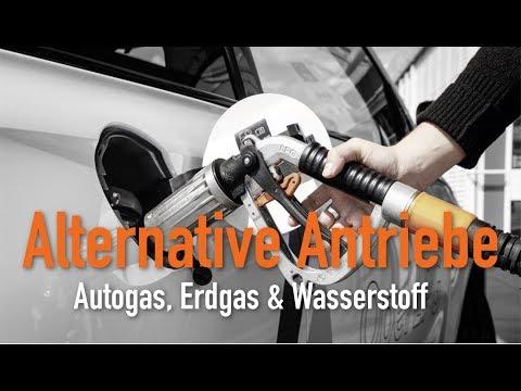 Alternative Antriebe - Autogas, Erdgas & Wasserstoff. ...