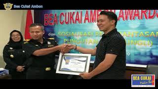 Sosialisai Pungutan Liar dan Pemberian Customs Ambon Award