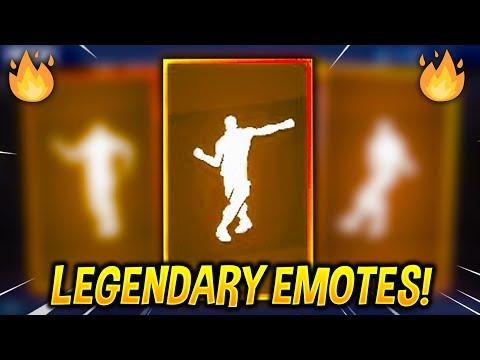 Top 10 Legendary Emotes in Fortnite Battle Royale..!_Legjobb videók: Játék