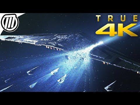 Star Wars: The Last Jedi | Lightspeed Scene 4K (Holdo's Sacrifice)