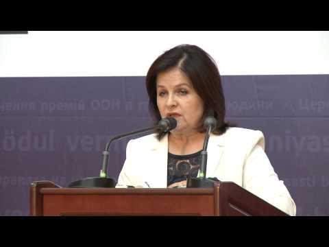 Margareta Timofti a participat la Gala Organizației Națiunilor Unite pentru Drepturile Omului