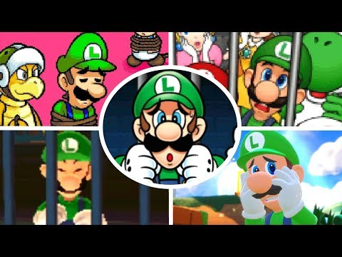 Evolution Of Luigi Being Rescued (1995-2018)