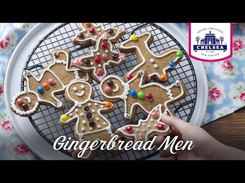 Chelsea Sugar Gingerbread Men Recipe