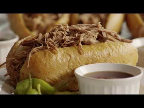 French Recipe: How to Make French Dip Sandwiches from Scratch with Shredded Beef Roast