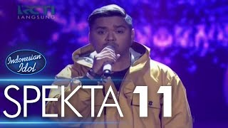 Video ABDUL ft. EKA GUSTIWANA - MASIH ADA (Ello) - Spekta Show Top 5 - Indonesian Idol 2018 MP3, 3GP, MP4, WEBM, AVI, FLV Maret 2018