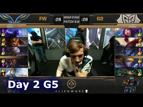 Flash Wolves vs G2 eSports | LoL MSI 2019 Group Stage Day 2 | FW vs G2