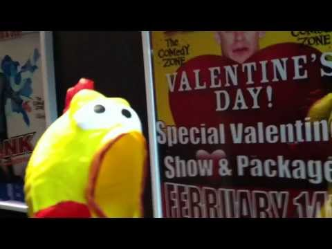 The Comedy Chicken & Valentine's day 2014 with Dale Jones