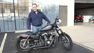 7. 2014 Harley-Davidson Sportster Iron 883!