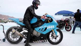 4. 5 Speed World records at Bonneville Salt Flats 2013 with BMW S1000RR