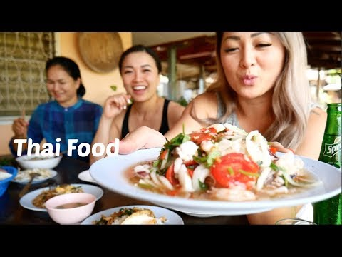 Thai Food | Mukbang | Local Restaurant | N.E Lets Eat