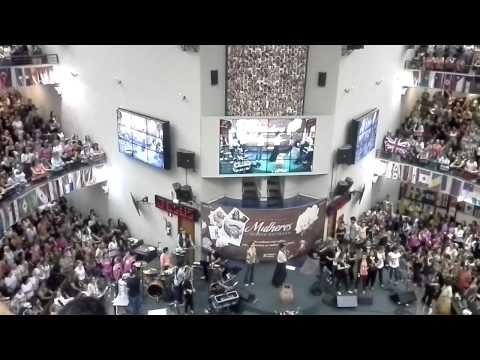 4º CONGRESSO MULHERES DIANTE DO TRONO EM LAGOINHA - BH