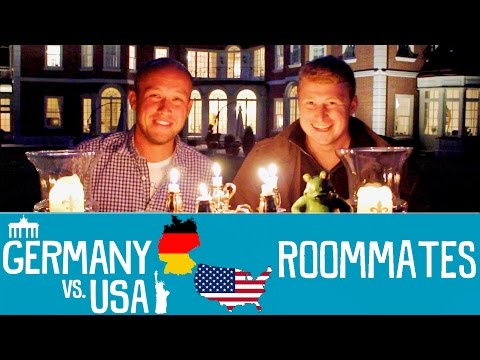germany - The guys discuss the behavior towards roommates, shared apartments (Wohngemeinschaft), dorms and living arrangements that people usually deal with in college/university in Germany and America....