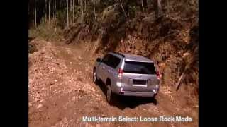 2013 Toyota Land Cruiser 150  Off-road Test Course Overview