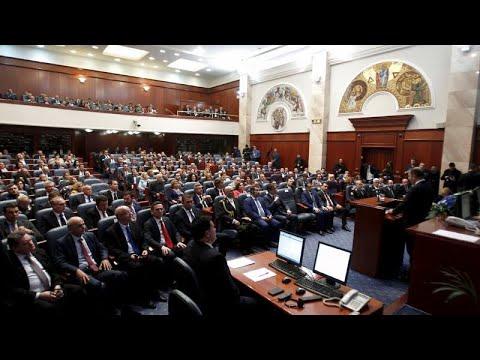 Διαλύθηκε η Βουλή της Βόρειας Μακεδονίας – Εκλογές 12 Απριλίου…