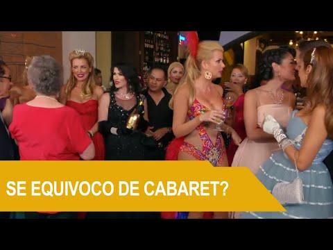 Sissi llega con traje de Cabaretera a la fiesta | Rica Famosa Latina | Temporada 3  Episodio 06