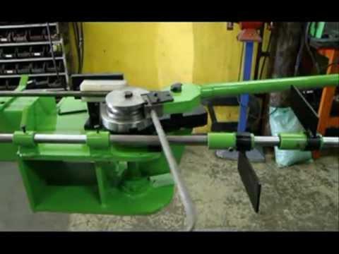 curvadora de tubos manual inox aço cobre