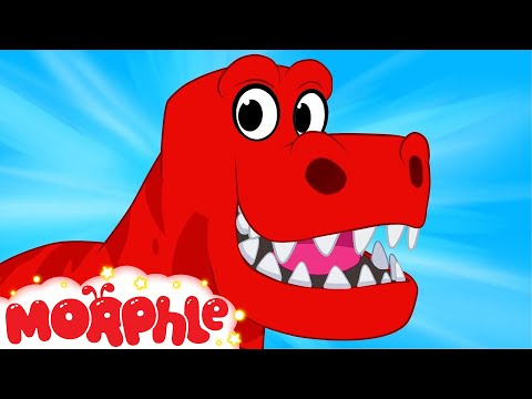 My Pet T-rex - ( Dinosaurs cartoons for children ) My Magic Pet Morphle