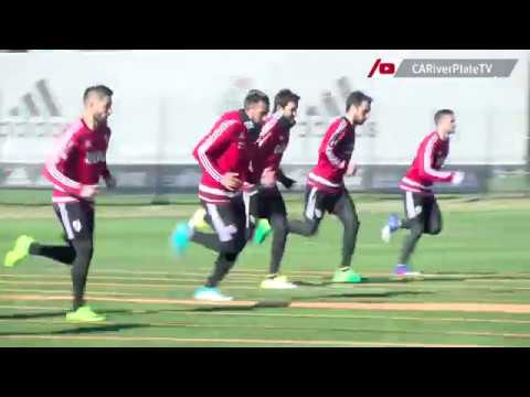 Entrenamiento en River Camp (18-07-2017)