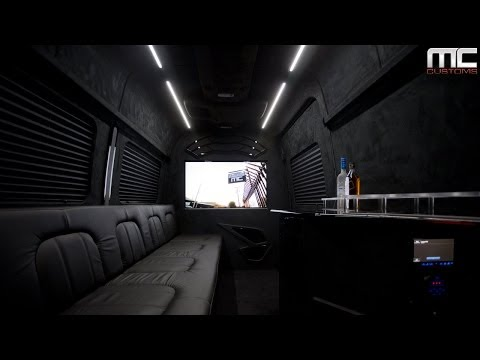 MC Customs Mercedes Benz Sprinter Cargo Van