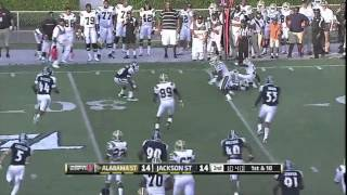 Qua Cox vs Alabama State (2013)