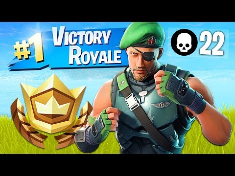 Winning in Squads!! // Pro Fortnite Player // 1900 Wins (Fortnite Battle Royale Gameplay)