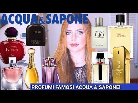 PROFUMI dupe famosi da ACQUA & SAPONE! 🤩Profumi equivalenti copie di fragranze note uomo e donna