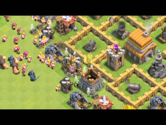 Видео к игре Clash of Clans