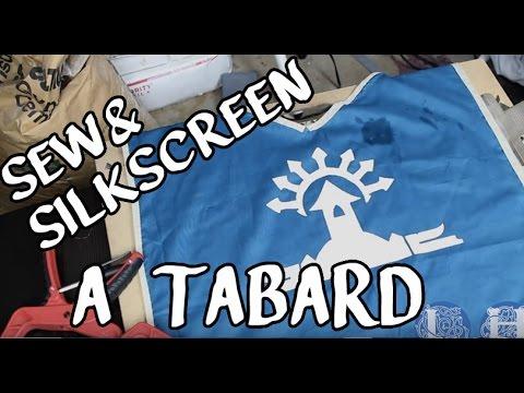 DIY Sew & Silkscreen a Tabard | LH EP 004
