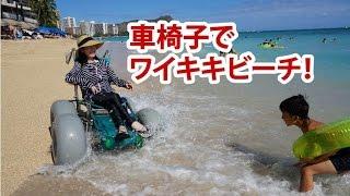 車椅子でハワイHawaii ワイキキビーチ『ランディーズ』