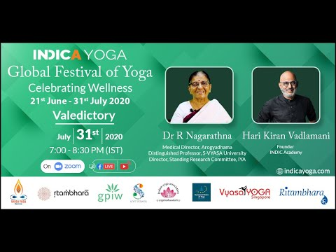 Global Festival of Yoga Valedictory Session