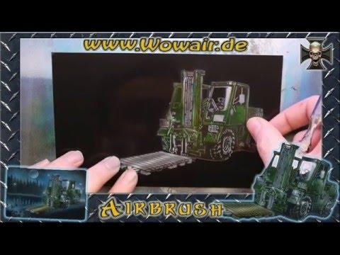 "No.257 Airbrush by Wow "" Bundeswehr FUG "" HD 1080.mp4"